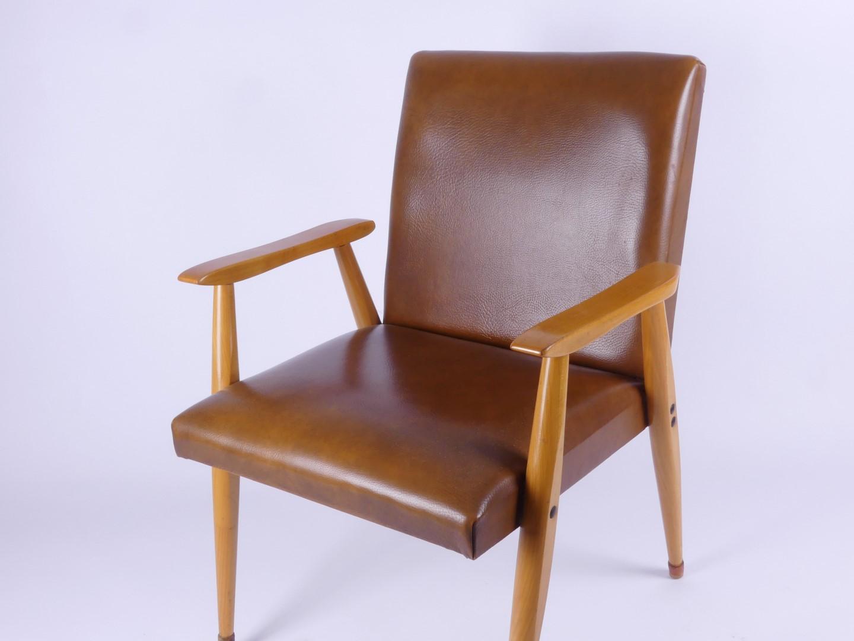 Mid century modern armchair schreibtischstuhl sessel 50er 60er 50s 60s typ 2 ebay - Schreibtischstuhl modern ...